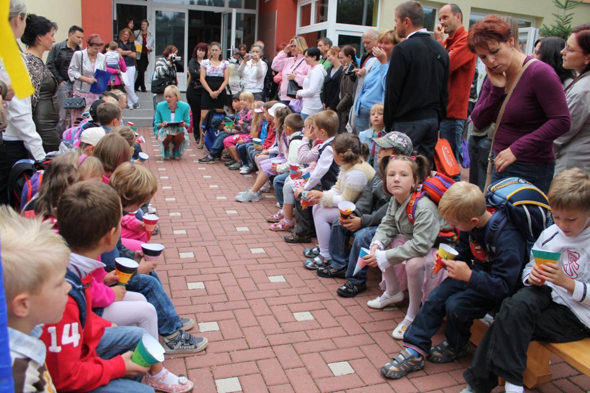 Začátek školního roku v Lánově