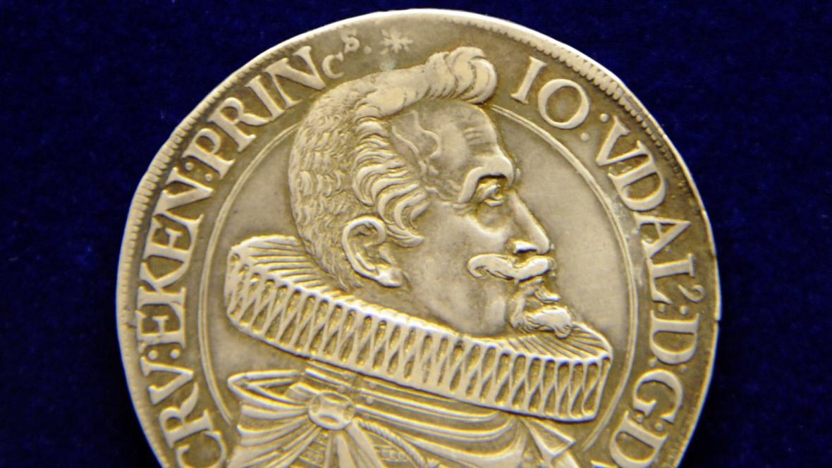 Tolar Vévodství krumlovského z roku 1629
