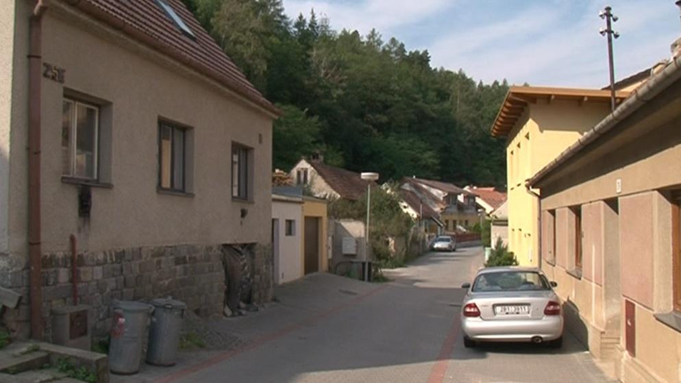 Kuřimská ulice Podhoří