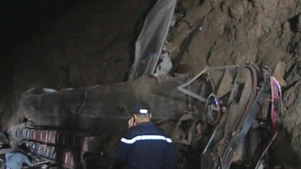 Nehoda autobusu v Maroku