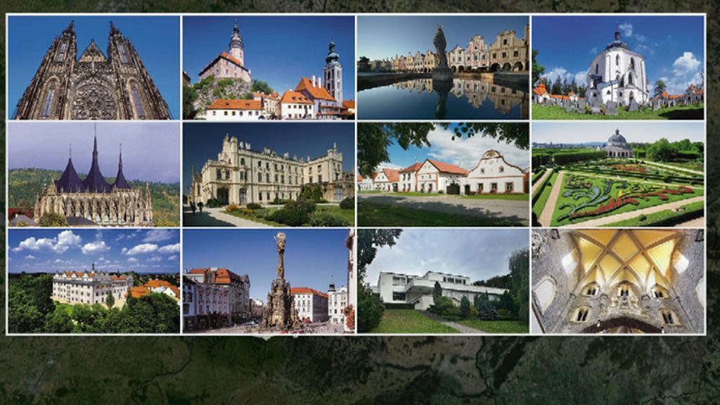 České památky pod UNESCO