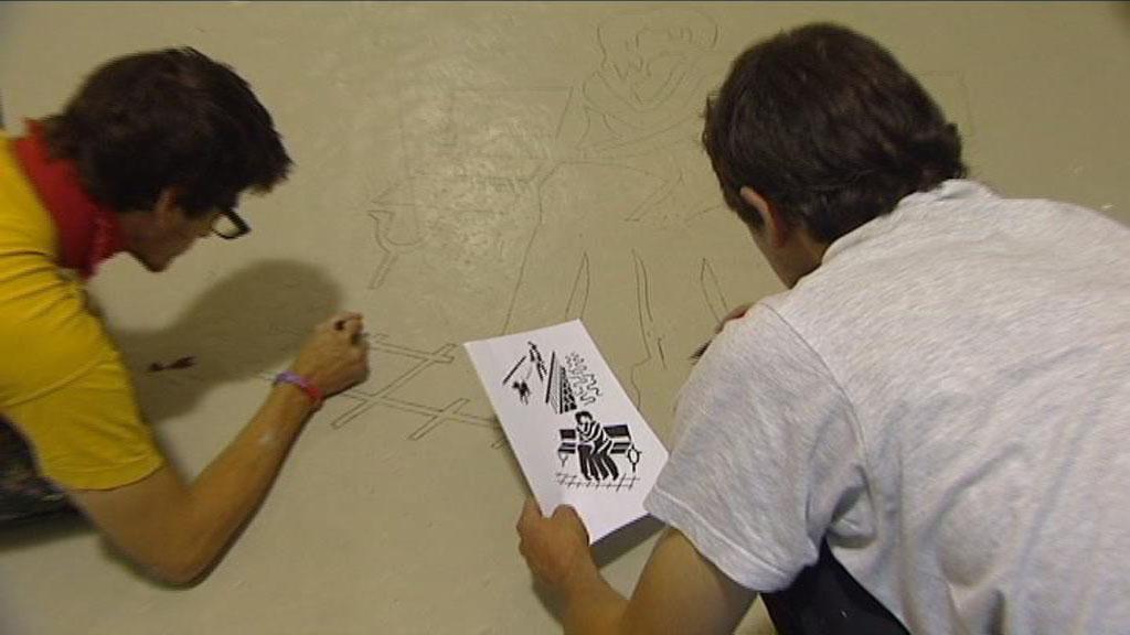 Umělci v akci