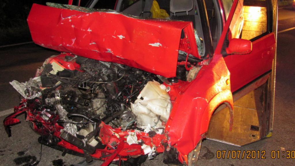 Nehoda u Jihlavy
