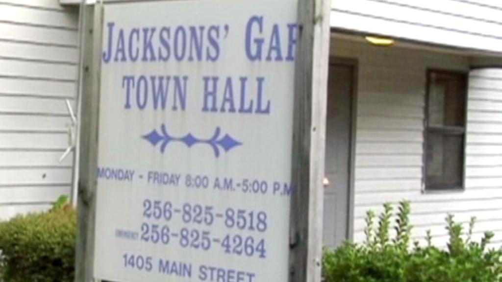 Radnice v Jacksons' Gap
