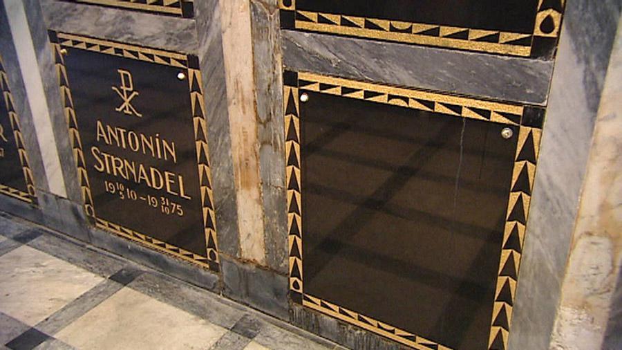 Prázdná hrobka na Slavíně