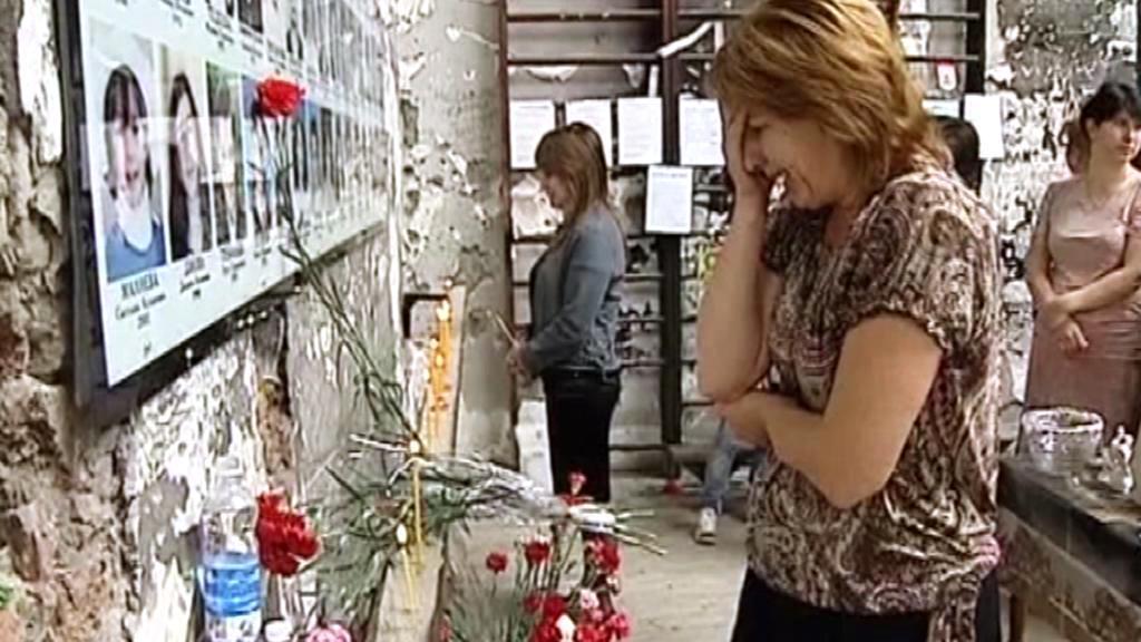 Pozůstalí po obětech si připomněli osmé výročí tragédie v Beslanu