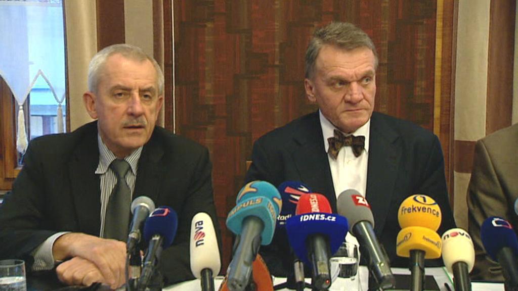 Luboš Heger a Bohuslav Svoboda