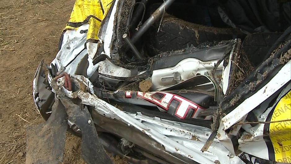 Nehoda na Barum Rally