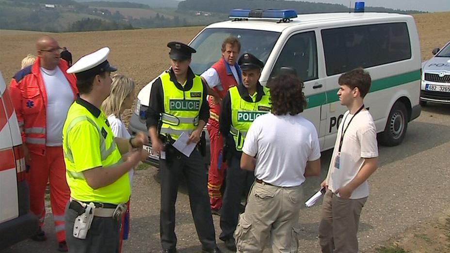 Nehodu vyšetřují policisté