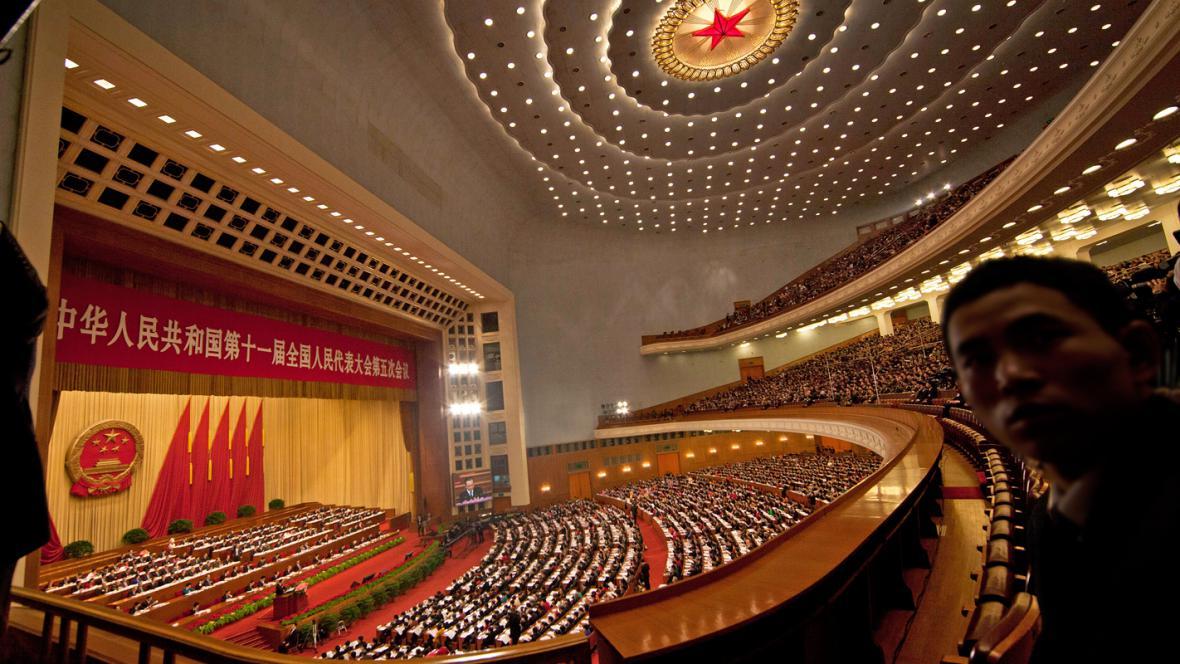 Výroční schůze čínského parlamentu