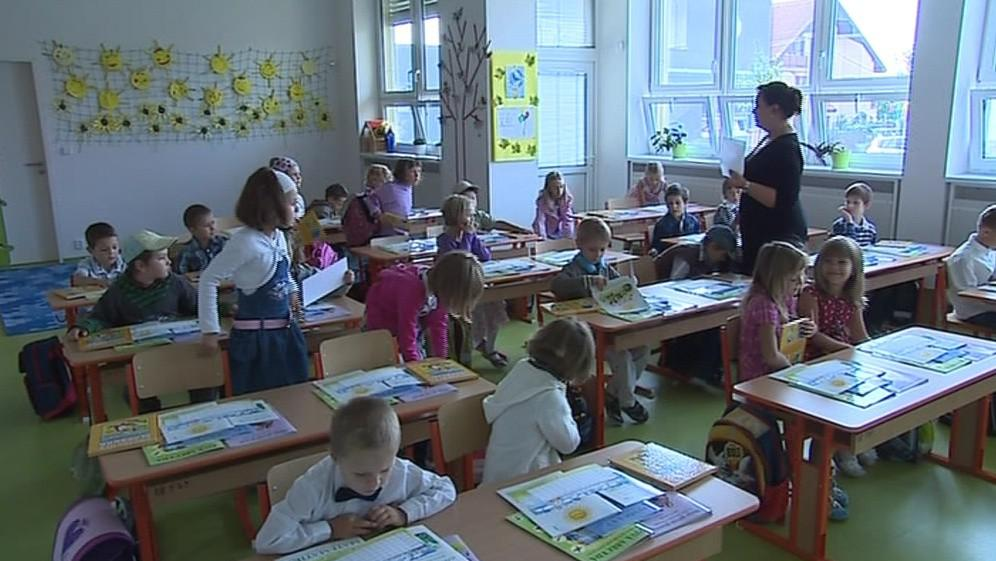 Zahájení nového školního roku v nové škole v Brně-Žebětíně