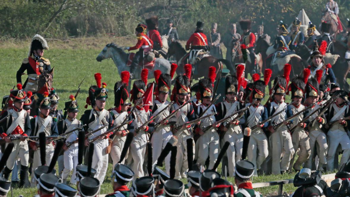 Rekonstrukce bitvy u Borodina