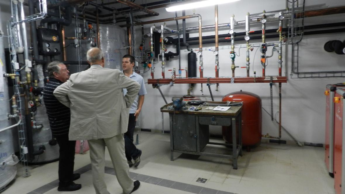 Středisko je vybaveno moderními zelenými technologiemi