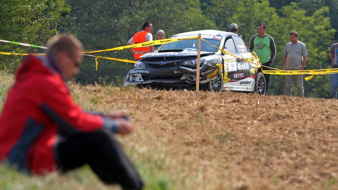 Nehoda na Barum rallye