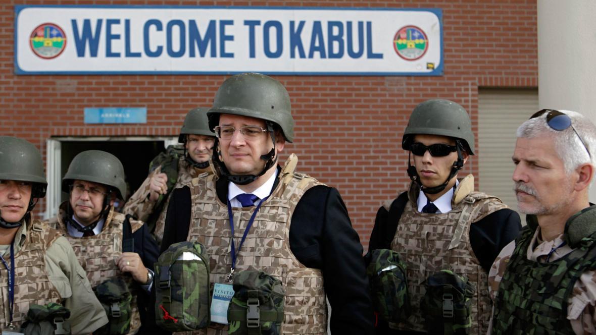 Petr Nečas v Afghánistánu
