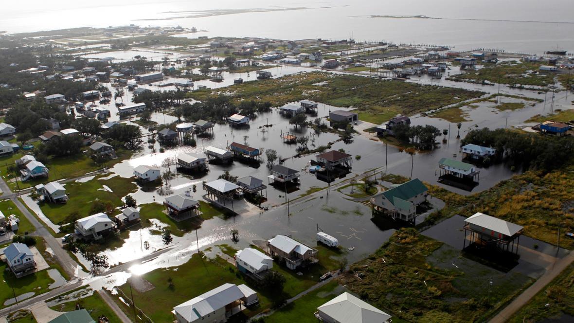 Následky hurikánu Isaac