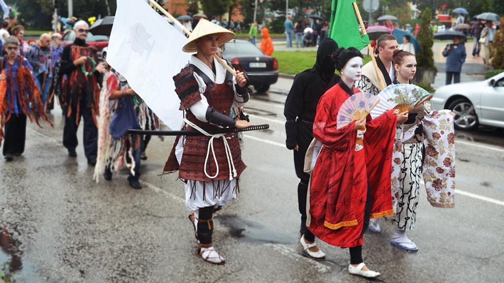 Hornické slavnosti s karnevalovým průvodem