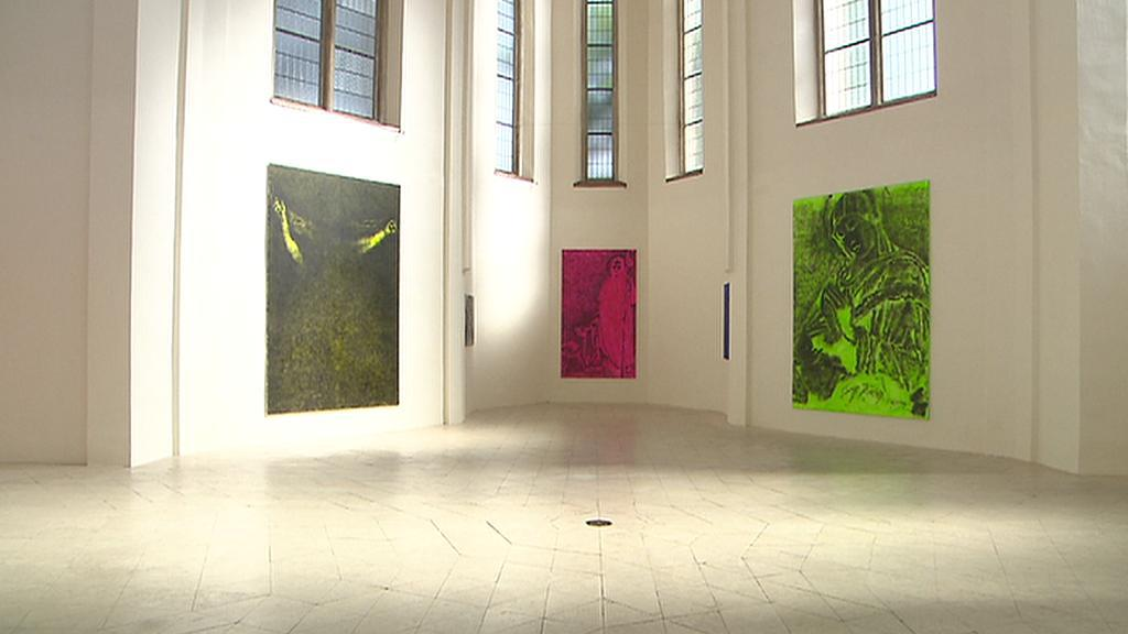 Jiří Georg Dokoupil v Galerii Miro