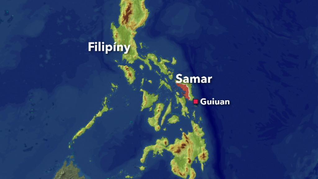 Zemětřesení u Filipín
