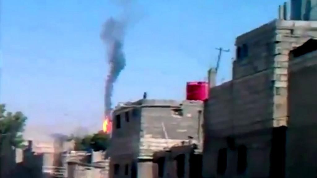 Povstalci sestřelili vrtulník