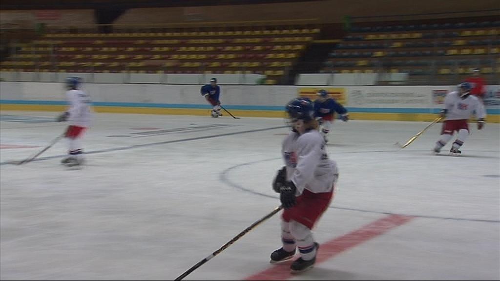 Kromě pilování hokejového umění čekají Češky souboje se Slovenskem