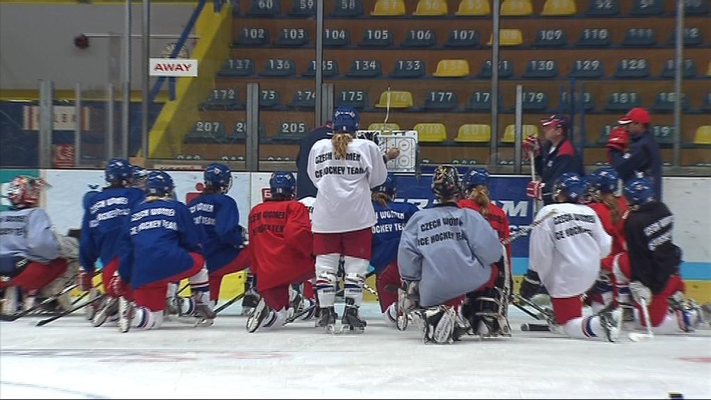 České hráčky vybojovaly vloni postup mezi hokejovou elitu