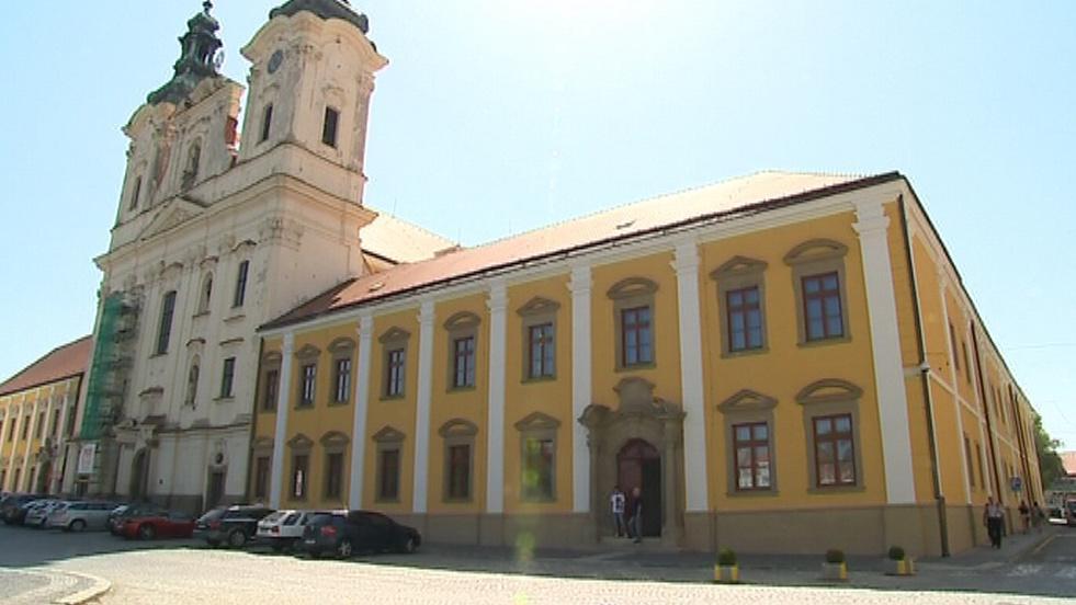 Opravená Jezuitská kolej v Uherském Hradišti