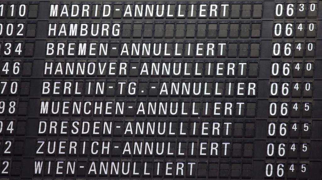 Letoví dispečeři ve Frankfurtu zažili klidnější směnu