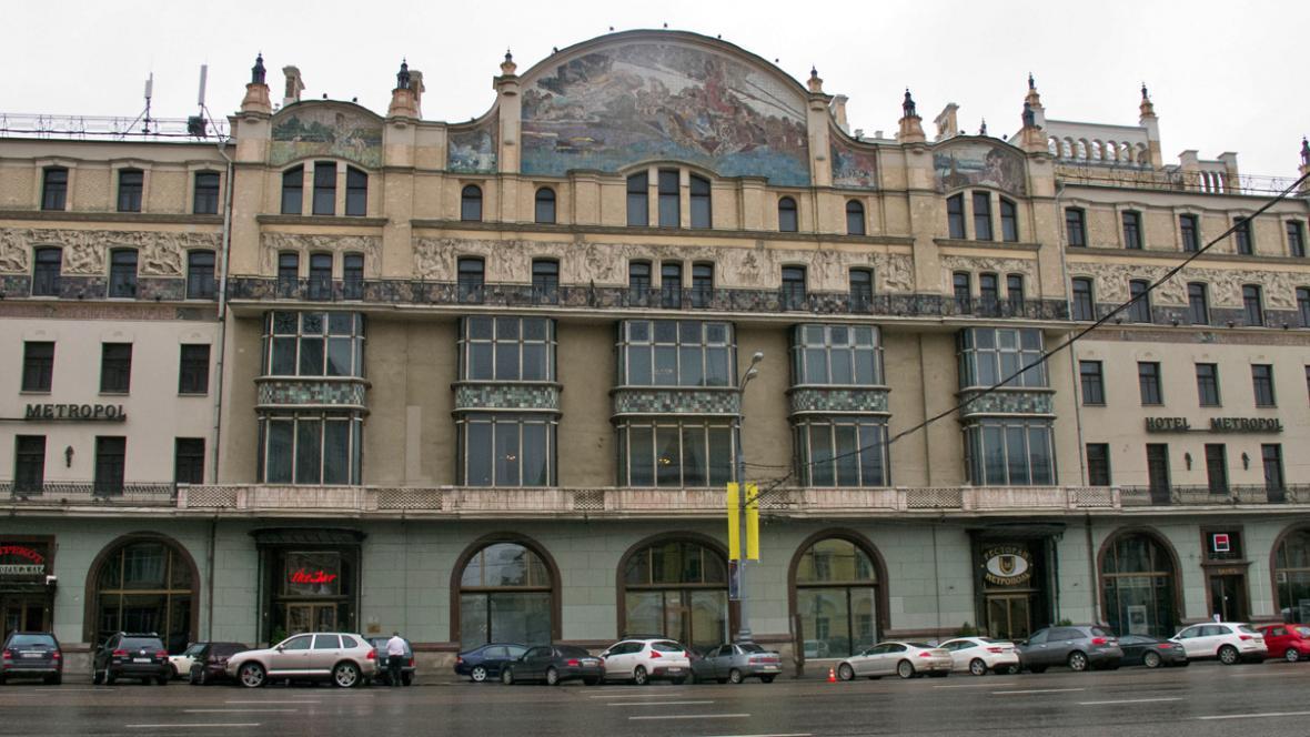 Moskevský hotel Metropol