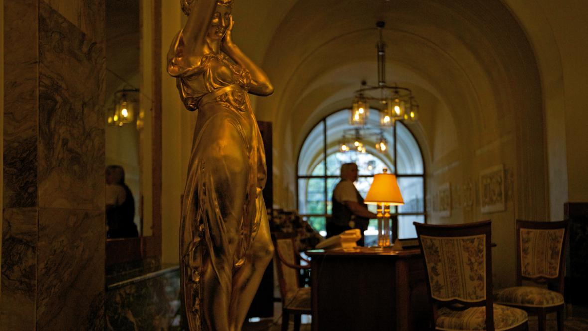 Interiér hotelu Metropol