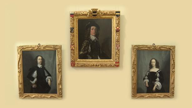 Frans Hals: Portrét Jaspara Schadeho / Cornelis Jonson van Ceulen: Portrét Jaspara Schadeho a jeho ženy