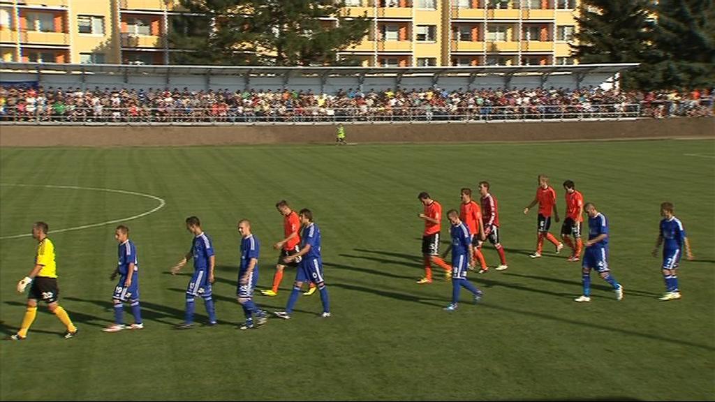 Prostějovský fotbalový klub se po deseti letech vrátil do ligových soutěží