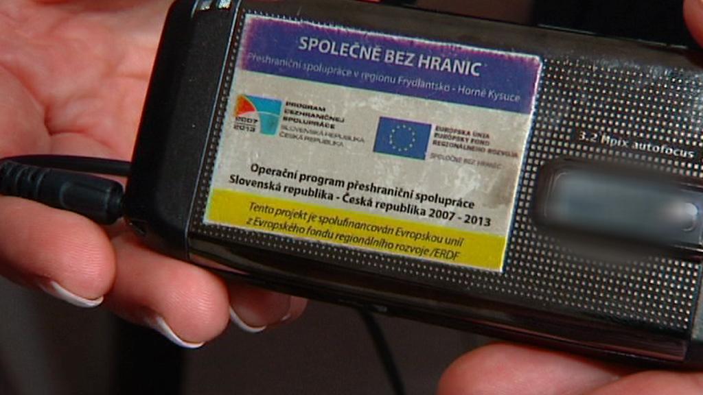 Šifrovaný telefon dotovaný z EU