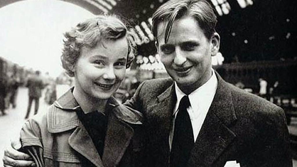 Olof Palme s manželkou