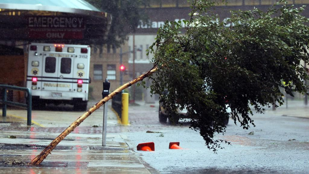 Hurikán Isaac v New Orleansu