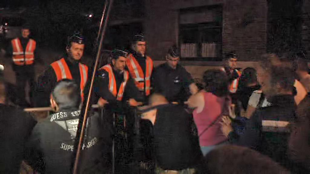 Lidé v Malonne protestují proti příjezdu Michelle Martinové