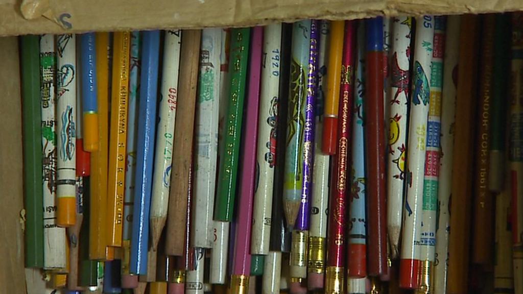 Sbírka školních pomůcek