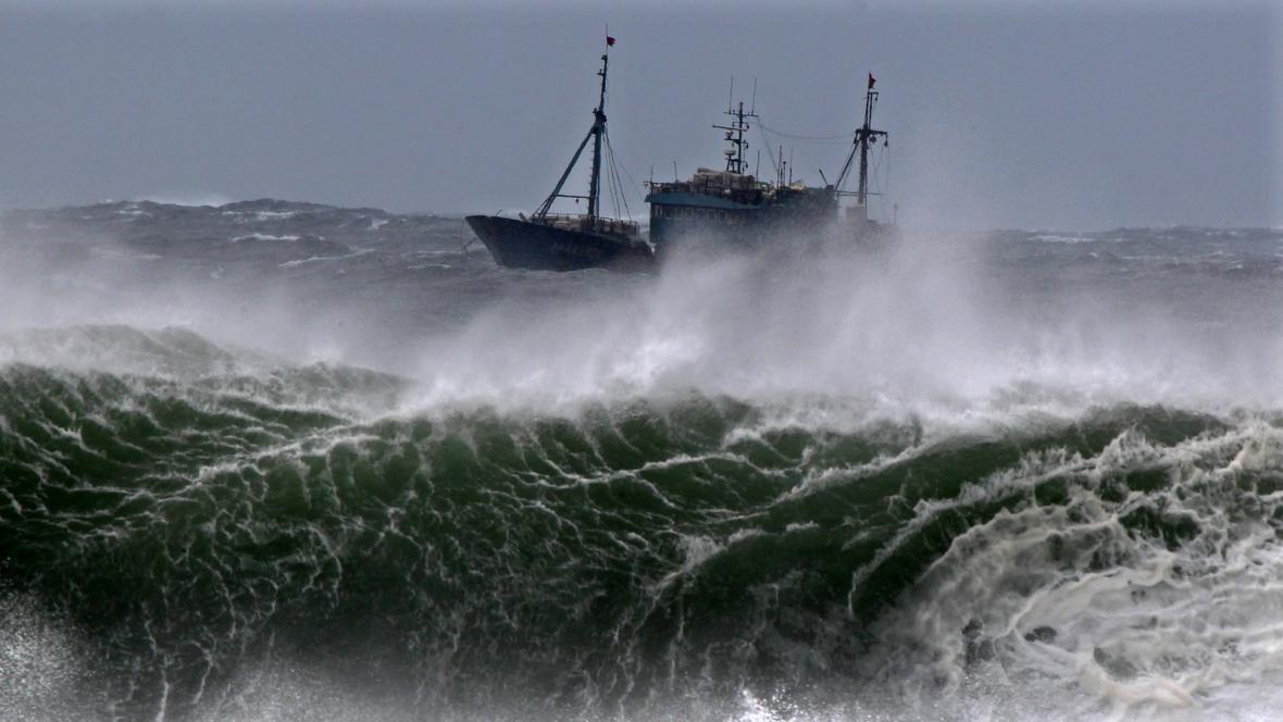 Následky tajfunu Bolaven