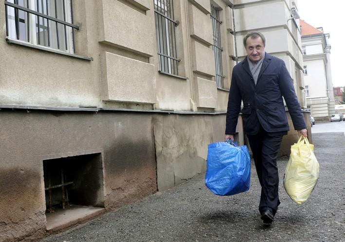 Bohdan Danylyšyn opouští pankráckou věznici