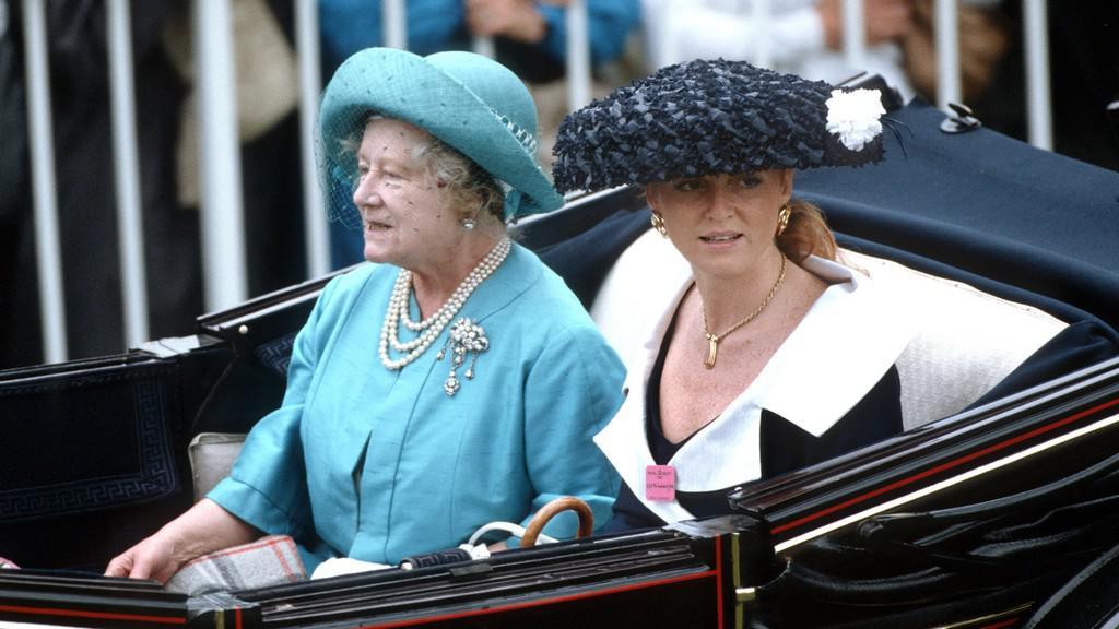 Královna matka a vévodkyně z Yorku