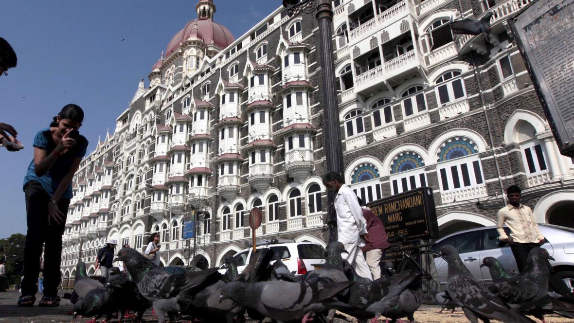Bombajský hotel Taj Mahal