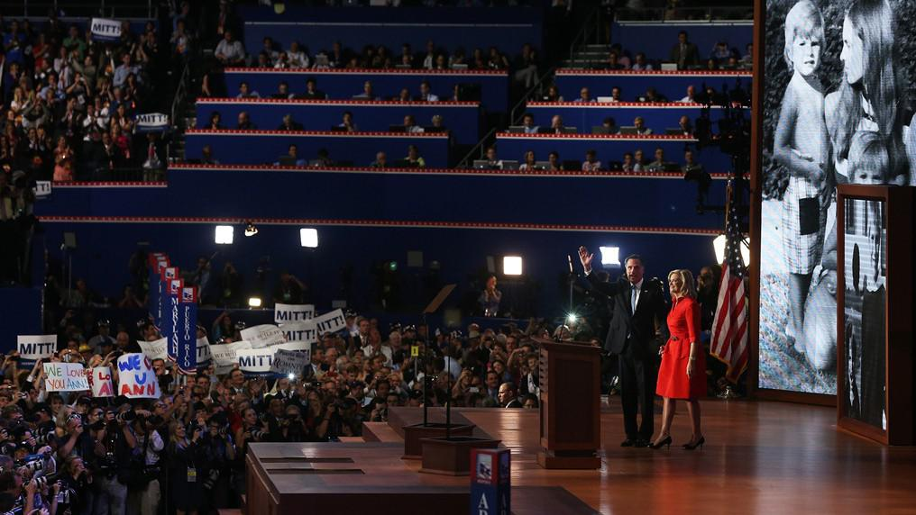Mitt Romney s manželkou Ann