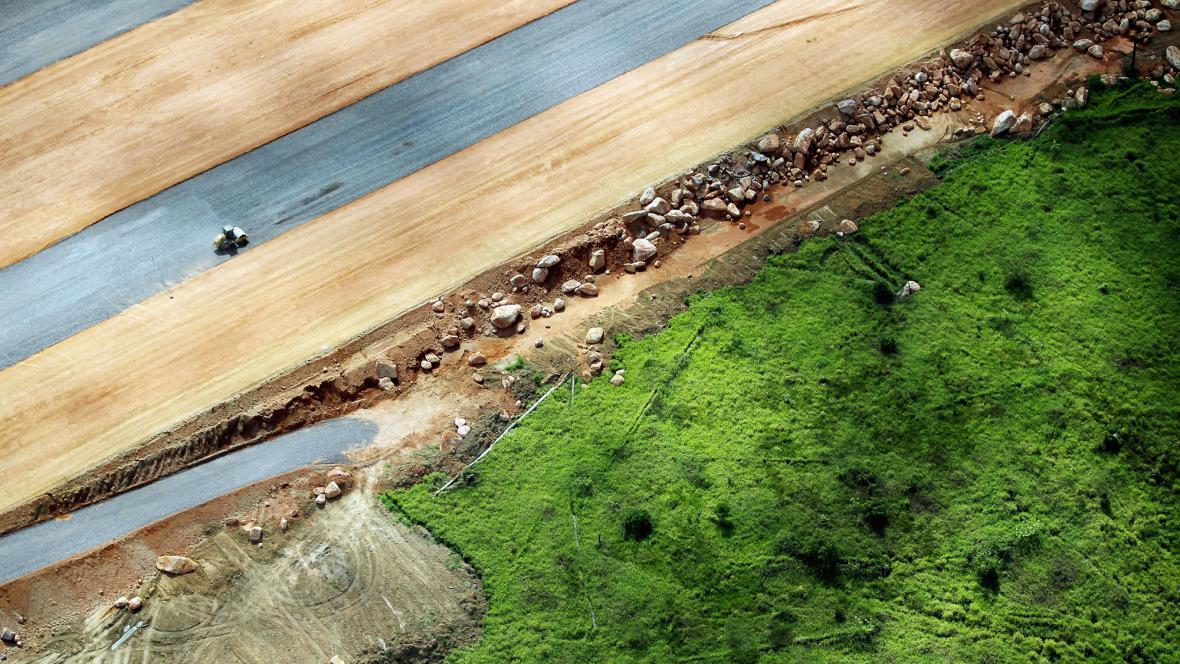 Stavba přehrady Belo Monte