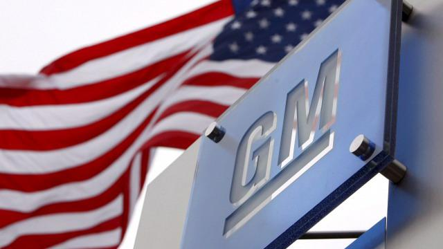 Logo automobilky GM