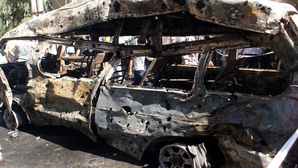 V Džaramáně explodoval automobil