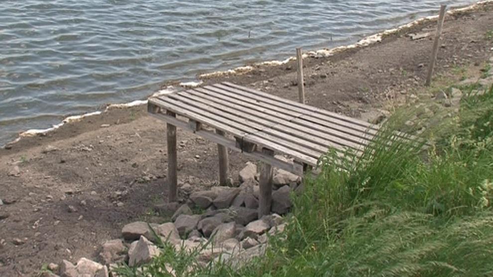 Některé rybníky jsou téměř bez vody