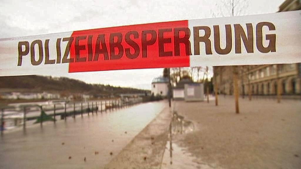 Evakuace v Koblenzi