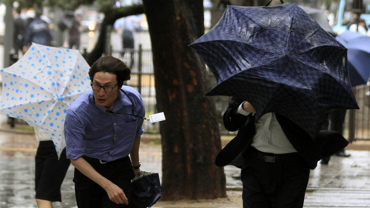 Tajfun Bolaven v Jižní Koreji