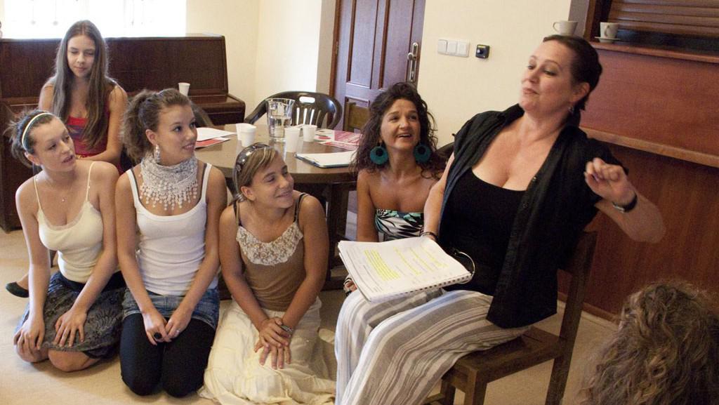 Účastníci divadelní školy