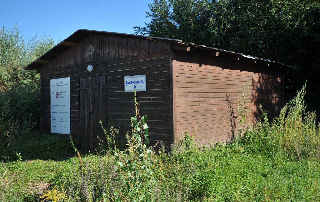 Dekontaminační stanice pro přečištění čerpaných podzemních vod